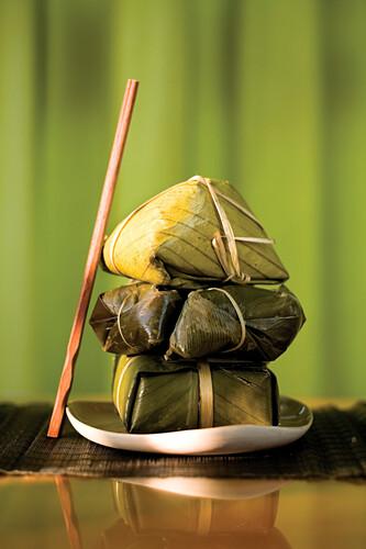 Vietnamese Leaf Snacks, Hanoi, Vietnam