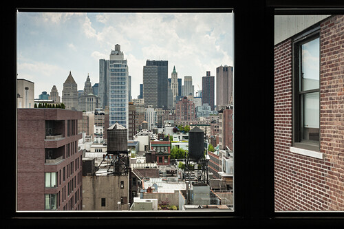 View to Downtown, Manhattan, New York, USA
