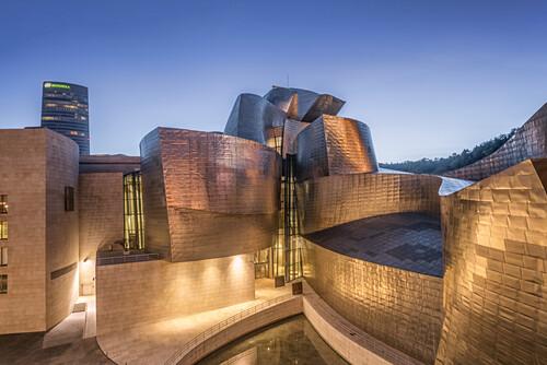 Guggenheim Museum vom Architekten Frank Gehry, Bilbao, Baskenland, Spanien ( nur redationelle Nutzung )