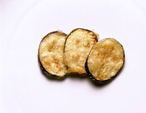 Deep Fried Eggplant Slices