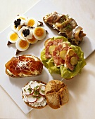 Five Open-Faced Sandwiches for Summer