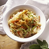 Sauerkraut Salad with Bell Pepper