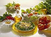 Tableau of Summer Salads