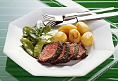 Chateaubriand with Herb Crust