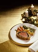 Fillet Wellington with young Vegetable
