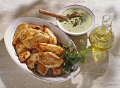 Chicken Breast with Herb Mayonnaise