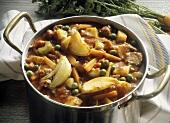A Pot of Beef Stew