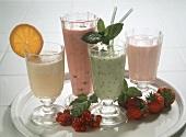 Four Summer Milkshakes
