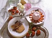 Three Icecream Desserts