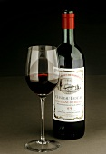 Bordeaux Bottle with Glass