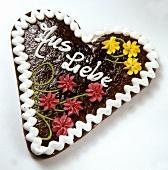 Gingerbread Heart; 'Aus Liebe'