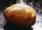 Butter Melting on a Steaming Baked Potato
