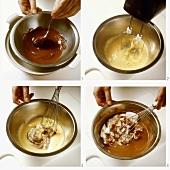 Making mousse au chocolat