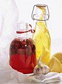 Infused Home Made Vinegar and Oil Presents
