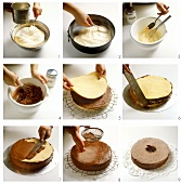 Baking a Dobos cake