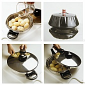 Cooking potatoes in pressure cooker
