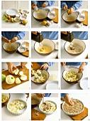 Apfelauflauf zubereiten