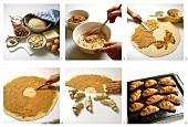 Nut croissants