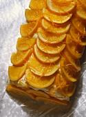 Orange sand cake
