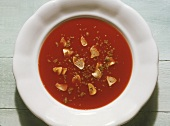Tomato-Garlic Soup