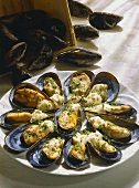 Mussels with Mustard Mayonnaise Sauce