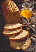Hazelnut cake with honey & buckwheat
