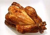 Whole Roasted Chicken; Overhead