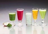 Assorted Herb Drinks and Vegetable Drinks