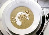 Unripe Spelt Grain Soup