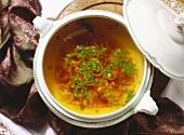 Franconian Onion Soup
