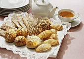 Assorted Pastries For Tea