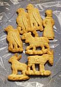 German cookies (Spekulatius)