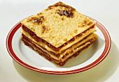 Lasagna (baked pasta dish), Emilia-Romagna, Italy