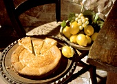 Cheesecake from Corsica (Fiadone)