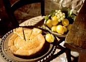 Käsekuchen aus Korsika (Fiadone)