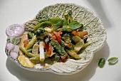 Verdure alla primavera (mixed spring vegetables), Italy