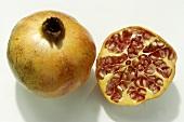 Half & Whole Pomegranate