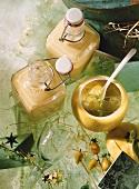 Lemon and lime marmalade and liqueur