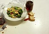 Orecchiette alla pugliese (orecchiette with broccoli)