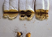 Three different stollen