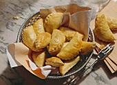 Spicy stuffed Puff Pastry Pockets