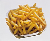 French Fries in a Fast Food Container