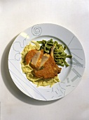 Parmesan Cutlet with Fennel