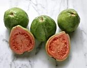 Several Fresh Guava