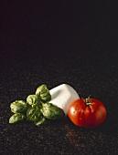 Tomato with Mozzarella and Fresh Basil