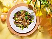 Lamb Tongue Salad with Pumpkin Seeds