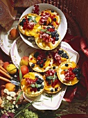 Apricot Tartlet with Berries