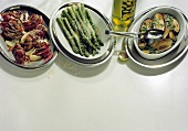 Three spicy Vegetable Dishes from Italy