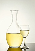 Decanter and Glass of Wine