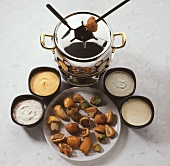 Beer Batter Fondue
